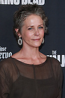 UNIVERSAL CITY, CA, USA - OCTOBER 02: Melissa McBride arrives at the Los Angeles Premiere Of AMC's 'The Walking Dead' Season 5 held at AMC Universal City Walk on October 2, 2014 in Universal City, California, United States. (Photo by David Acosta/Celebrity Monitor)