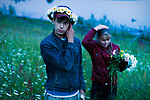Dmitry and his sister are picking up flowers at night on the Eve of Ivan Kupala according to the old pagan rite. They say if you wish something that night it will come true. Dmitry dreams to learn playing the guitar. He had wished it that night