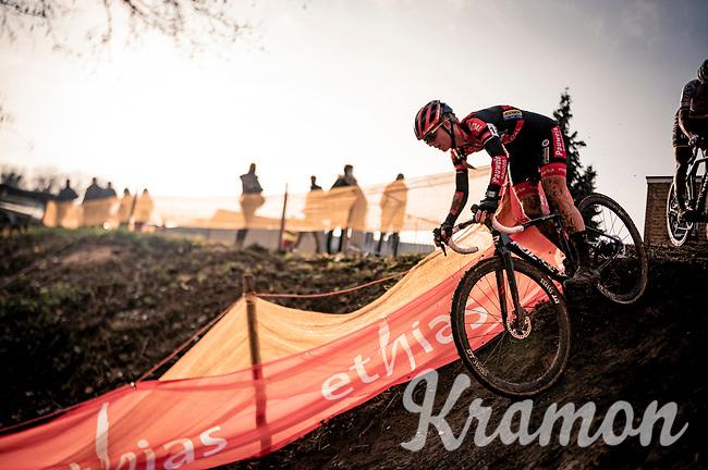 Denise Betsema (NED/Pauwels Sauzen-Bingoal)<br /> <br /> Jaarmarktcross Niel (BEL) 2020<br /> Womens race<br />  <br /> ©kramon