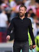 11th September 2021; Brentford Community Stadium, London, England;  Premier League football, Brentford versus Brighton Athletic; Graham Potter Manager of Brighton after the match