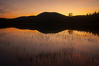 Sunset On South Lake In The Adirondack mountains Of New York State