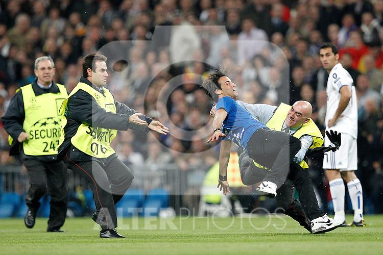 STRIKER during champions league match ..Photo: Cesar Cebolla  / ALFAQUI