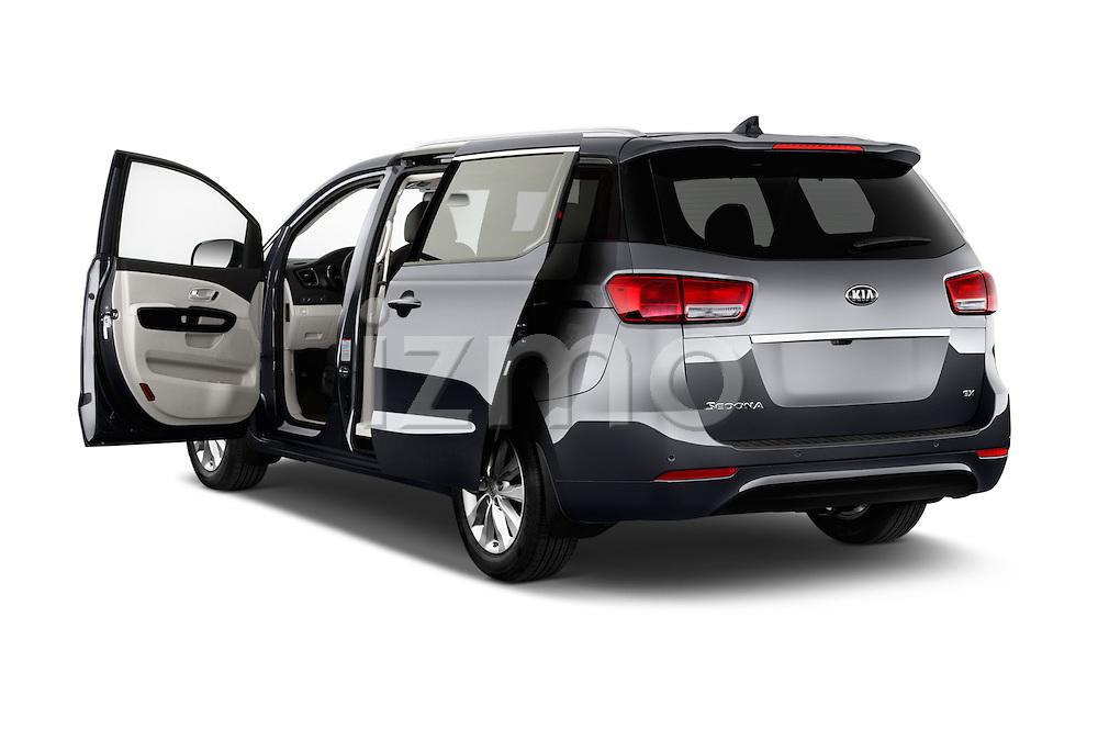 Car images of 2015 KIA Sedona EX 5 Door Minivan Doors