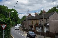 2019 06 21 Woodside Terrace in Crumlin, Caerphilly, Wales, UK.