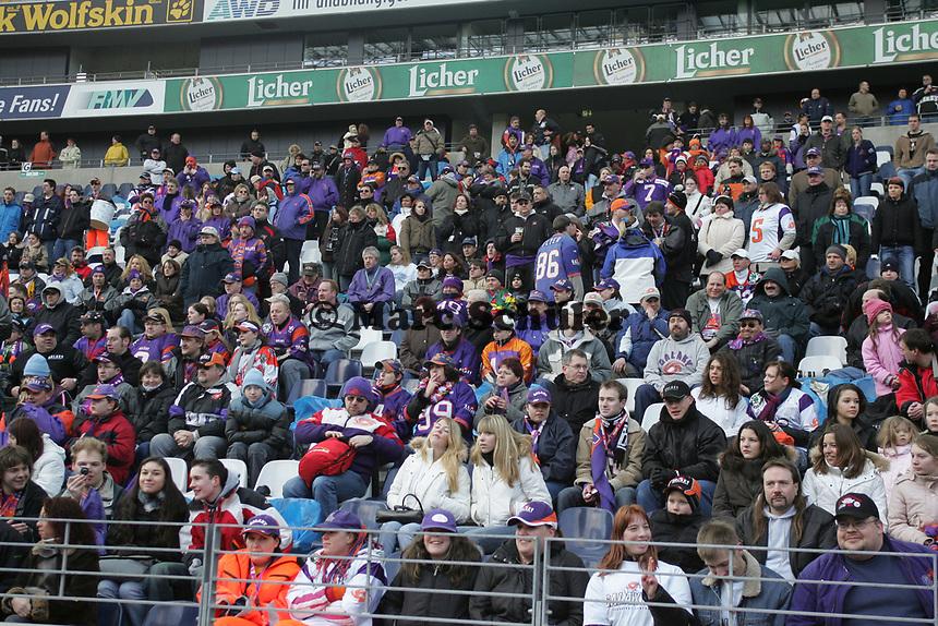 Fans beim Fan Day der Frankfurt Galaxy