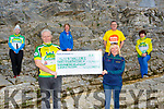 Mark Murphy and the organiser presented the proceeds of the 54321 Challenge to three charities at Ross Castle on Saturday  Catherine Foley Maura O'Sullivan Kerry Hospice, Mark Murphy, Marian Kelly Skellig Stars,Sean Scally Eneable Ireland Caroline Lynch Enable Ireland