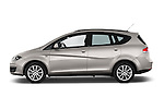 Car Driver side profile view of a 2014 Seat ALTEA XL I-TECH Special 5 Door Mini MPV 2WD Side View