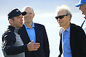 Clint Eastwood at prize giving after the final round of the AT&T Pro-Am , Pebble Beach Golf Links, Monterey, USA. 11/02/2019<br /> Picture: Golffile | Phil Inglis<br /> <br /> <br /> All photo usage must carry mandatory copyright credit (© Golffile | Phil Inglis)