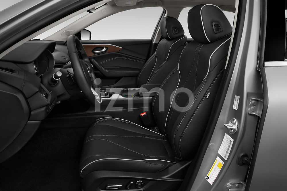 Front seat view of 2021 Acura TLX Advance-Package 4 Door Sedan Front Seat  car photos