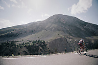 Maurits Lammertink (NED/Katusha-Alpecin) up the Col d'Izoard (HC/2360m/14.1km/7.3%)<br /> <br /> 104th Tour de France 2017<br /> Stage 18 - Briancon › Izoard (178km)
