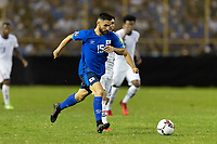 SAN SALVADOR, EL SALVADOR - SEPTEMBER 2: Alex Roldan #15 El Salvador during a game between El Salvador and USMNT at Estadio Cuscatlán on September 2, 2021 in San Salvador, El Salvador.