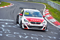 Race of Germany Nürburgring Nordschleife 2016 Qualifying ETCC 2016 138 Sebastien Loeb Racing Peugeot 308 Racing Cup. David Pouget (FRA). © 2016 Musson/PSP. All Rights Reserved.