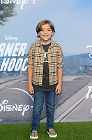"""LOS ANGELES - JUL 15:  Jeremy Maguire at Disney+ """"Turner & Hooch"""" Premiere Event at Westfield Century City Mall on July 15, 2021 in Century City, CA"""