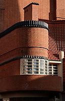 Nederland  Amsterdam  2020.  Het Schip in de Zaanstraat, gebouwd in Amsterdamse School stijl.  Een ontwerp van Michel de Klerk .  Foto : ANP/ HH / Berlinda van Dam
