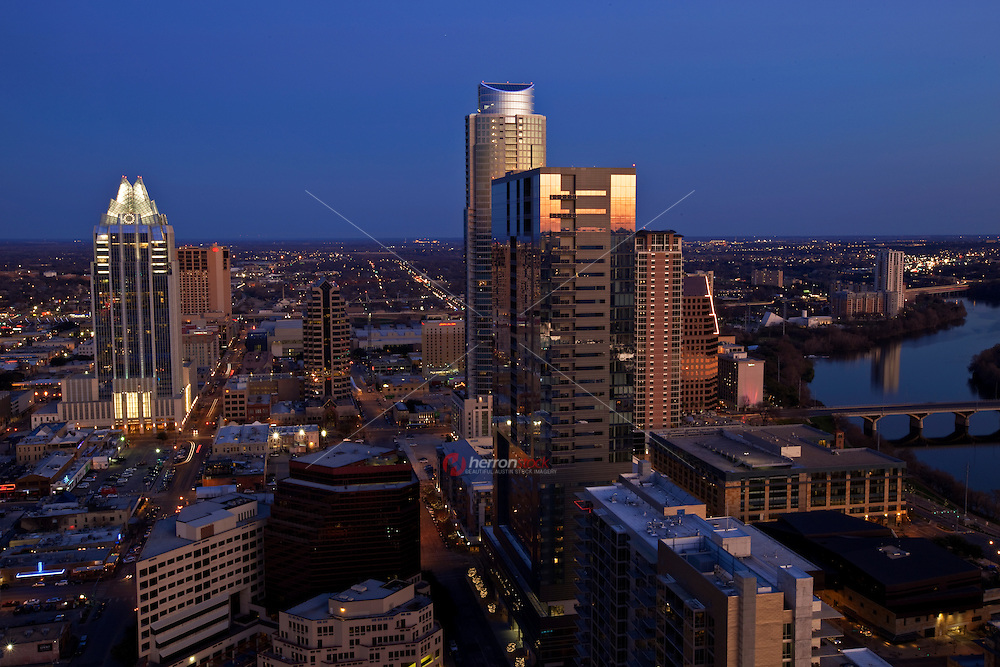 Austin is currently undergoing a skyscraper boom, which includes recent construction on the now complete 360 Condominiums at 563 feet (172 m), Spring (condominiums), the Austonian at 683 feet (208 m), and several others that are mainly for residential use. By 2015, the Frost Bank Tower could be the only skyscraper built before 2005 to remain in the ten tallest buildings in the city.