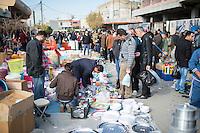 Stadtansicht von Erbil.<br /> Arbil oder Erbil ist die Hauptstadt und zugleich auch der Sitz der Regierung der Autonomen Region Kurdistan im Irak.<br /> 19.12.2014, Erbil/Autonome Kurdische Region/Irak<br /> Copyright: Christian-Ditsch.de<br /> [Inhaltsveraendernde Manipulation des Fotos nur nach ausdruecklicher Genehmigung des Fotografen. Vereinbarungen ueber Abtretung von Persoenlichkeitsrechten/Model Release der abgebildeten Person/Personen liegen nicht vor. NO MODEL RELEASE! Nur fuer Redaktionelle Zwecke. Don't publish without copyright Christian-Ditsch.de, Veroeffentlichung nur mit Fotografennennung, sowie gegen Honorar, MwSt. und Beleg. Konto: I N G - D i B a, IBAN DE58500105175400192269, BIC INGDDEFFXXX, Kontakt: post@christian-ditsch.de<br /> Bei der Bearbeitung der Dateiinformationen darf die Urheberkennzeichnung in den EXIF- und  IPTC-Daten nicht entfernt werden, diese sind in digitalen Medien nach §95c UrhG rechtlich geschuetzt. Der Urhebervermerk wird gemaess §13 UrhG verlangt.]