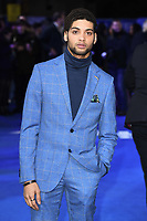 """Rohan Nedd<br /> arriving for the """"Blue Story"""" premiere at the Curzon Mayfair, London.<br /> <br /> ©Ash Knotek  D3534 14/11/2019"""