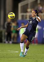BOCA RATON, FL - DECEMBER 15, 2012: Sydney Leroux (11) of the USA WNT  during an international friendly match against China at FAU Stadium, in Boca Raton, Florida, on Saturday, December 15, 2012. USA won 4-1.