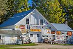 Antique shop in Bethel, Maine, USA