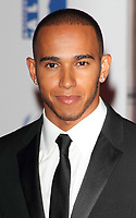 File photo of Lewis Hamilton who has been awarded a Knighthood in the New Year's Honours List.<br /> Sports for Peace - Honouring and celebrating Muhammed Ali held at the Victoria and Albert Museum, Kensington, London - July 25th 2012.<br /> <br /> Photo by Keith Mayhew.