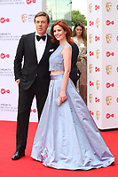 Andrew Buchan & Amy Nutall<br />  arriving at the Bafta Tv awards 2017. Royal Festival Hall,London  <br /> ©Ash Knotek