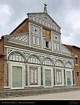 11th-12th c Facade San Miniato al Monte Florence