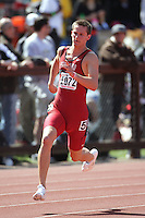 5 April 2008: Chris Hadley during the Stanford Invitational at the Cobb Track and Angell Field in Stanford, CA.