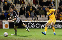 MOTHERWELL'S CHRIS HUMPHREY SCORES MOTHERWELL'S THIRD GOAL