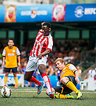 Stoke City vs Yau Yee League Select during day two of the HKFC Citibank Soccer Sevens 2015 on May 30, 2015 at the Hong Kong Football Club in Hong Kong, China. Photo by Xaume Olleros / Power Sport Images
