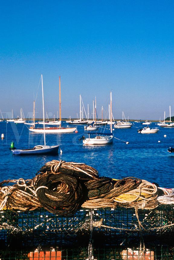 Chatham harbor, Cape Cod, MA