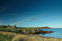 St Ninian's Chapel, Isle of Whithorn, Dumfries and Galloway<br /> <br /> Copyright www.scottishhorizons.co.uk/Keith Fergus 2012 All Rights Reserved