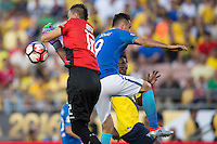 Actio photo during the match Brasil vs Ecuador, at Rose Bowl Stadium Copa America Centenario 2016. ---Foto  de accion durante el partido Brasil vs Ecuador, En el Estadio Rose Bowl, Partido Correspondiante al Grupo -B-  de la Copa America Centenario USA 2016, en la foto: Esteban Dreer<br /> --- 04/06/2016/MEXSPORT/ Osvaldo Aguilar
