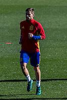 Spainsh Inigo Martinez during the training of the spanish national football team in the city of football of Las Rozas in Madrid, Spain. November 10, 2016. (ALTERPHOTOS/Rodrigo Jimenez) ///NORTEPHOTO.COM