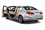 Car images close up view of a 2018 BMW 5 Series 530i 4 Door Sedan doors