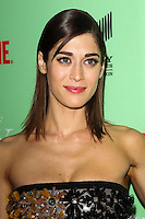"""NORTH HOLLYWOOD, CA, USA - APRIL 29: Lizzy Caplan at Showtime's """"Masters Of Sex"""" Special Screening And Panel Discussion held at the Leonard H. Goldenson Theatre on April 29, 2014 in North Hollywood, California, United States. (Photo by Celebrity Monitor)"""