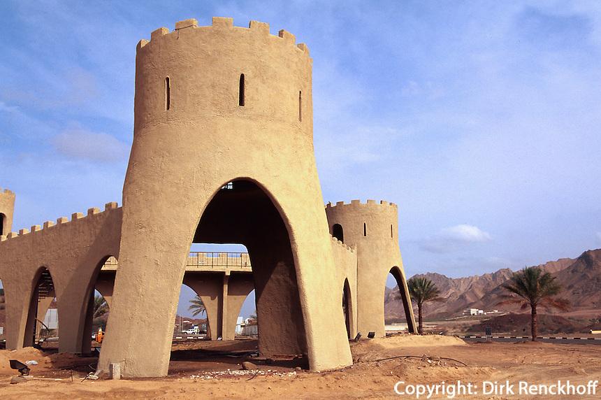 Vereinigte arabische Emirate (VAE, UAE), Dubai, Fort in Hatta