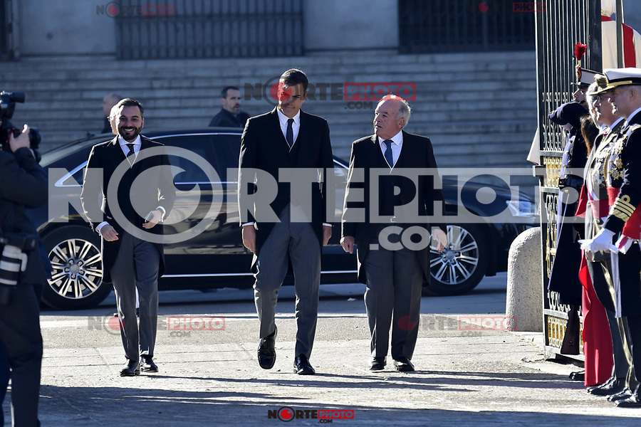 Pedro Sanchez attends to Pascua Militar at Royal Palace in Madrid, Spain. January 06, 2019. (ALTERPHOTOS/Pool) /NortePhoto.com