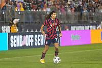 EAST HARTFORD, CT - JULY 1: Tobin Heath #7 of the United States during a game between Mexico and USWNT at Rentschler Field on July 1, 2021 in East Hartford, Connecticut.
