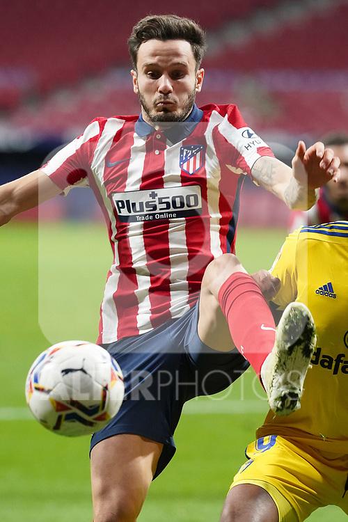 Atletico de Madrid's Saul Niguez during La Liga match. November 7,2020. (ALTERPHOTOS/Acero)