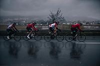 Team Lotto-Soudal leading the way<br /> <br /> 76th Paris-Nice 2018<br /> Stage 8: Nice > Nice (110km)