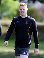 Tuesday 3rd May; Nathan Doak<br /> Ulster Rugby Training at Perrie Park, Belfast, Northern Ireland. Photo by John Dickson/Dicksondigital