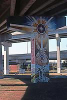 San Diego: Chicano Park Murals. Photo '77.