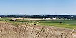 Ebbey Prarie, historical farmlands on Whidbey Island, Washington.