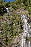 Queensland, Australia; view of Stoney Creek Falls from train running from Cairns to Kuranda, onboard the Kuranda Scenic Railway , © Matthew Meier, matthewmeierphoto.com All Rights Reserved