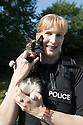 "16/08/16<br /> <br /> At just 10-weeks-old, this cute little kitten from a farm in the Derbyshire Peak District has already used up a couple of her 9(99?) lives after hitching a ride under a police van bonnet.<br /> <br /> FULL STORY HERE: <br /> <br /> https://fstoppressblog.wordpress.com/missing-purr-son-hitches-ride-in-police-car/<br /> <br /> <br /> In fact, not only did the ""missing purrrr-son"" hide in the vehicle, she probably also fell asleep in her warm and cosy spot, because she managed to stay safely stowed away until the van returned to the police station, some five hours after she first climbed onboard.<br /> <br /> But even then, this little girl wasn't ""resisting a rest"" and didn't want her great adventure to end, because it was another 12 hours before she finally ""bailed"" and announced her presence in the Ashbourne police station carpark, with some ""fur-ball"" abuse, mewling loudly when community police officer Rachel Baggaley arrived for her morning shift. <br /> <br /> ""I can't believe she survived, to be honest,"" said PC Baggaley, who was unwittingly responsible for the plucky kitten's big trip.<br /> <br /> All Rights Reserved, F Stop Press Ltd. +44 (0)1773 550665"