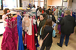 January 27, 2017- Tuscola, IL- The Miss Moultrie-Douglas Pageant held their annual Prom Dress sale at Tuscola Outlets. The 3-day event raises money for the 2017 Miss Moultrie-Douglas scholarship fund. [Photo: Douglas Cottle]