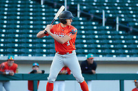 Petie Minor (3) of Golden Valley High School in EL Nido, California during the Baseball Factory All-America Pre-Season Tournament, powered by Under Armour, on January 13, 2018 at Sloan Park Complex in Mesa, Arizona.  (Freek Bouw/Four Seam Images)