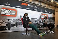8th October 2020, Nuerburgring, Nuerburg, Germany; FIA Formula 1 Eifel Grand Prix;  44 Lewis Hamilton GBR, Mercedes-AMG Petronas Formula One Team and 77 Valtteri Bottas FIN, Mercedes-AMG Petronas Formula One Team