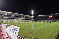 illustration picture of the Koning Boudewijnstadion  pictured during the warming up of a friendly female soccer game between the national teams of Belgium , called the Red Flames and The Netherlands , called the Oranje Leeuwinnen in a pre - bid tournament called Three Nations One Goal with the national teams from Belgium , The Netherlands and Germany towards a bid for the hosting of the 2027 FIFA Women's World Cup , on Thursday 18 th of February 2021  in Brussels , Belgium . PHOTO SPORTPIX.BE | SPP | DIRK VUYLSTEKE