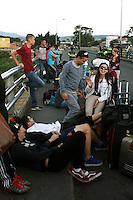 CUCUTA - COLOMBIA - 23-08-2015: Nicolas Maduro, Presidente de Venezuela, ordeno el cierre de la frontera de su pais, con Colombia, y descarto que pueda dar marcha atrás y anular su orden de cerrar la frontera con Colombia en un tramo usado por contrabandistas y paramilitares y anunció que la reabrirá solo cuando se restablezca la paz en el lugar. En el marco de unas medidas adoptadas recientemente contra la inseguridad y el contrabando, consta el cierre desde esta semana y por tiempo indefinido de un tramo de unos de 100 kilómetros de la porosa frontera con Colombia de más de 2.200 kilómetros. Maduro justificó la medida en una emboscada que el miércoles dejó heridos a tres soldados y a un civil, y a una persistente fuga de alimentos, medicinas y combustibles, productos que en un 40 % salen del país por el contrabando a Colombia desabasteciendo a Venezuela, y también para encarar al hampa y al paramilitarismo colombiano.Nicolas Maduro President of Venezuela, ordered the closure of the border of his country, with Colombia, and rule that can backtrack and cancel its order to close the border with Colombia in a stretch used by smugglers and paramilitary and announced the reopening only when peace is restored in place. Under recently adopted measures against insecurity and smuggling, consisting closure from this week and indefinitely for a stretch of about 100 kilometers of the porous border with Colombia over 2,200 kilometers. Maduro justified the measure in an ambush on Wednesday, wounding three soldiers and a civilian, and a persistent leak of food, medicine and fuel products 40% they leave the country by smuggling into Colombia to Venezuela, and also to address the underworld and the Colombian paramilitaries. Photo: VizzorImage / Manuel Hernandez / Cont.